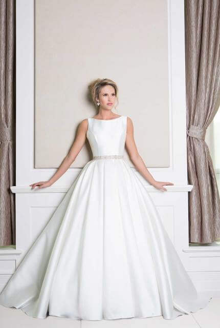 Wendy Makin – Size 8 Ball Gown dress | Second hand wedding dresses Morningside - 2