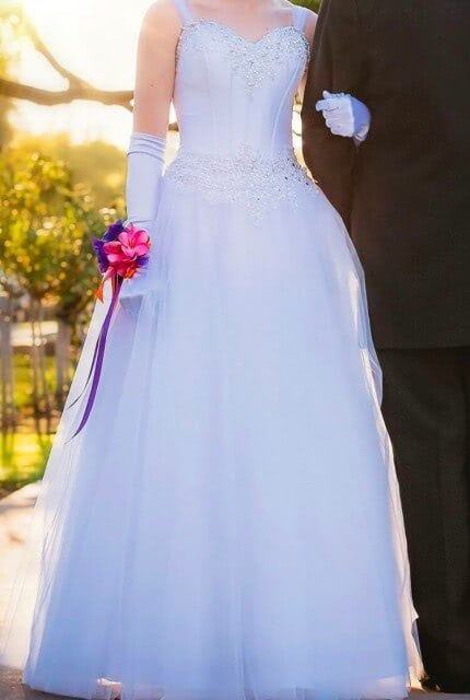 Angeline – Size 6 Ball Gown dress | Second hand wedding dresses Shepparton - 3