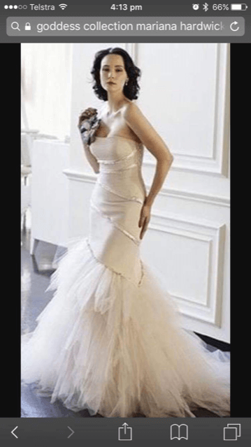 Mariana Hardwick – Size 6 Strapless dress | Second hand wedding dresses Manly - 2