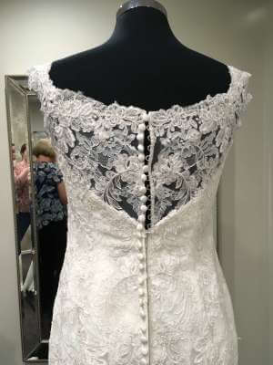 Ellis Bridal – Size 14 Sheath dress | Second hand wedding dresses Penrith - 4