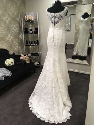 Ellis Bridal – Size 14 Sheath dress | Second hand wedding dresses Penrith - 7