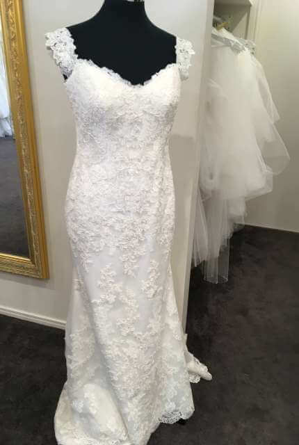 Ellis Bridal – Size 14 Sheath dress | Second hand wedding dresses Penrith - Size 14