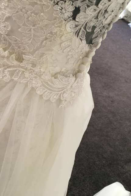 Ellis Bridal – Size 14 Sheath dress | Second hand wedding dresses Penrith - 8