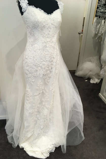 Ellis Bridal – Size 14 Sheath dress | Second hand wedding dresses Penrith - 6