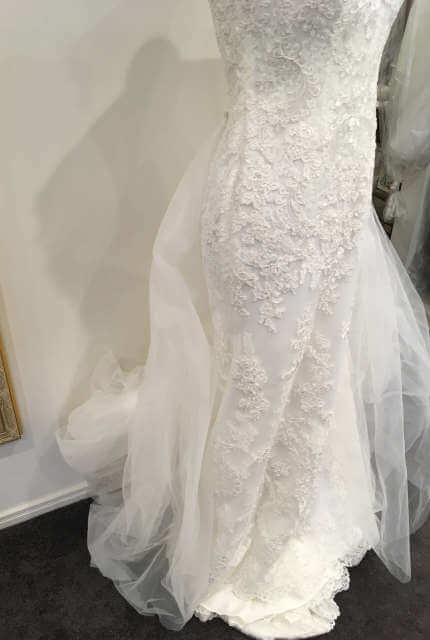 Ellis Bridal – Size 14 Sheath dress | Second hand wedding dresses Penrith - 3
