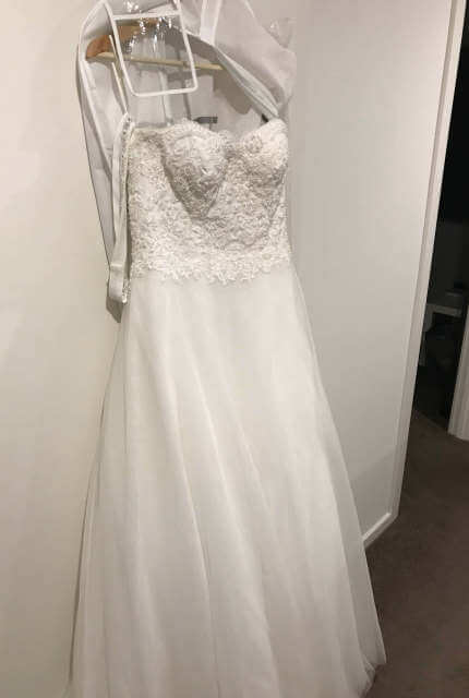 Bella E La Bestia Bridal – Size 8 A-Line dress | Second hand wedding dresses Berwick - 5