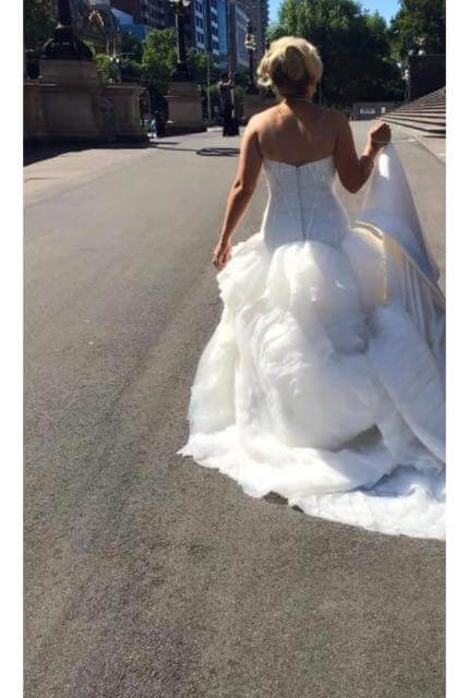 Jannifer Wu – Size 10 Ball Gown dress | Second hand wedding dresses Thomastown - 3