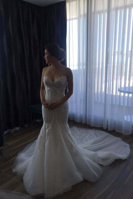 Norma Bridal Couture – Size 8 Fishtail dress | Second hand wedding dresses Canterbury - 5