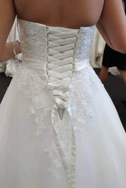 Bespoke / Other – Size 8 A-Line dress   Second hand wedding dresses Chatswood - 3