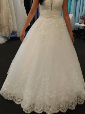 Bespoke / Other – Size 8 A-Line dress | Second hand wedding dresses Chatswood - 2