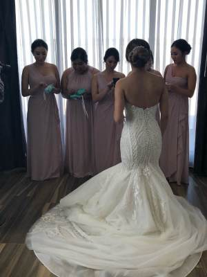 Norma Bridal Couture – Size 8 – Canterbury - 2