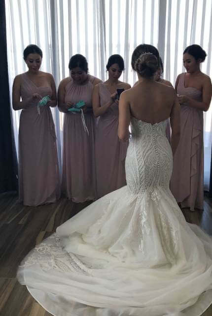 Norma Bridal Couture – Size 8 Fishtail dress | Second hand wedding dresses Canterbury - 2