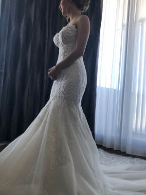 A-Line dress by Norma Bridal Couture