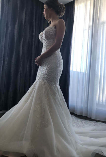Norma Bridal Couture – Size 8 Fishtail dress | Second hand wedding dresses Canterbury - Size 8