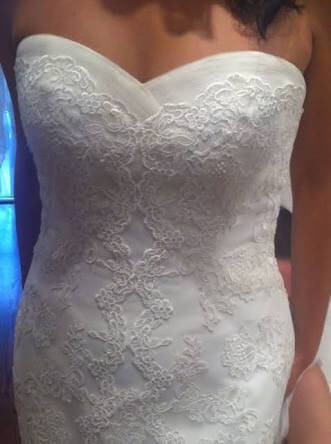 La Sposa – Size 6 Fit and Flare dress | Second hand wedding dresses Taylors Hill - 4
