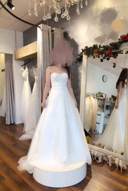 Bella E La Bestia Bridal – Size 8 A-Line dress | Second hand wedding dresses Berwick - Size 8