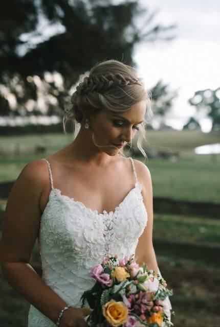 Justin Alexander – Size 12 Fit and Flare dress | Second hand wedding dresses Wonthaggi - 5