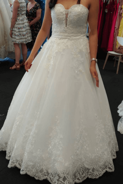 Bespoke / Other – Size 8 A-Line dress   Second hand wedding dresses Chatswood - Size 8