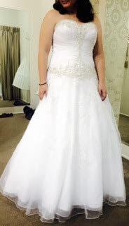 Allure Bridals – Size 20 Ball Gown dress | Second hand wedding dresses Browns Plains - Size 20