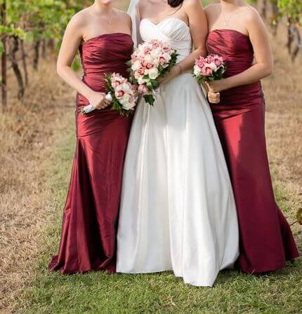 Knightly – Size 10 A-Line dress | Second hand wedding dresses Emu Plains - 3