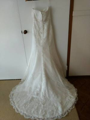 Cizzy Bridal – Size 10 – Brookfield Melton - 3