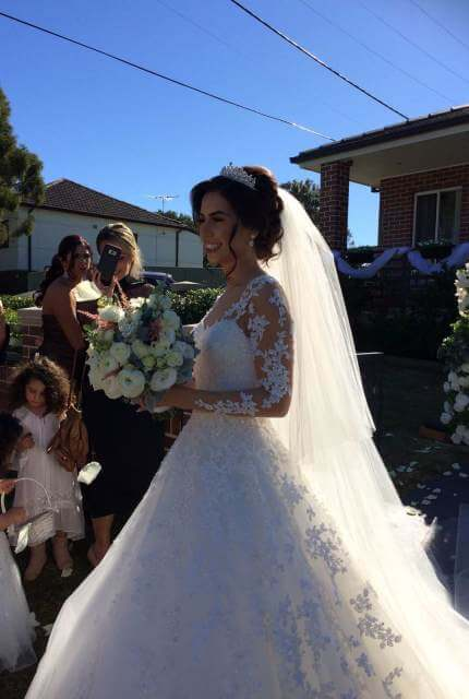 Joseph Sayadi – Size 8 A-Line dress | Second hand wedding dresses Merrylands - 4