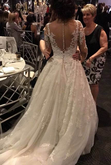 Joseph Sayadi – Size 8 A-Line dress | Second hand wedding dresses Merrylands - 3