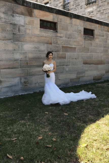 Norma Bridal Couture – Size 8 Fishtail dress | Second hand wedding dresses Canterbury - 3