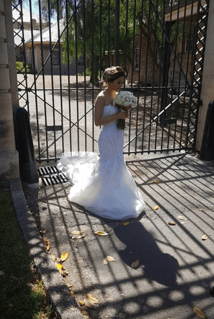 Norma Bridal Couture – Size 8 Fishtail dress | Second hand wedding dresses Canterbury - 4