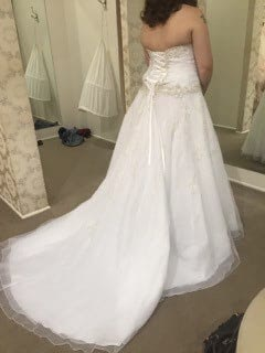 Allure Bridals – Size 20 Ball Gown dress | Second hand wedding dresses Browns Plains - 2