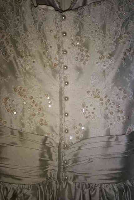 Wendy Makin – Size 12 Ball Gown dress | Second hand wedding dresses Melbourne - 10