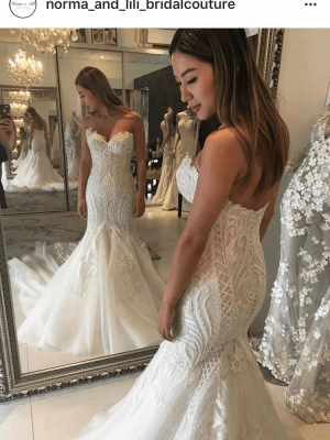 Norma Bridal Couture – Size 8 – Canterbury - 7