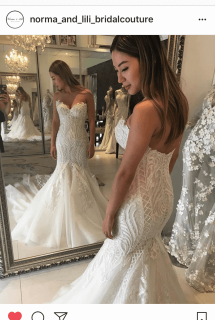 Norma Bridal Couture – Size 8 Fishtail dress | Second hand wedding dresses Canterbury - 7
