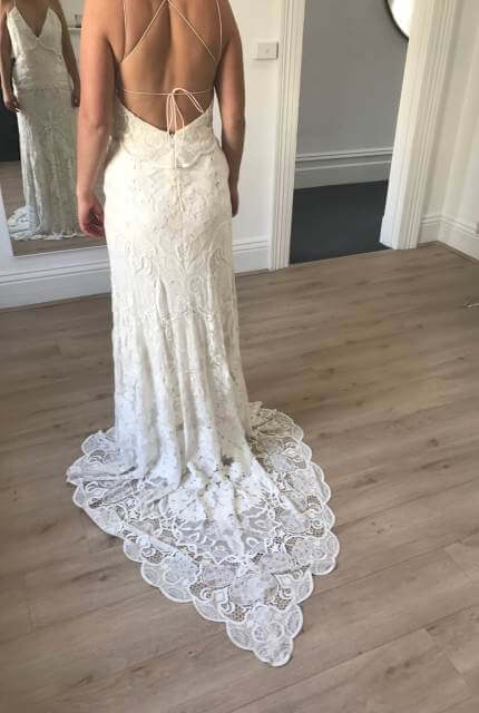 Rue De Seine – Size 10 Sheath dress | Second hand wedding dresses Narre Warren - 4