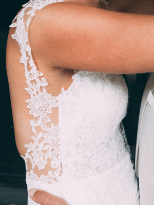 Peter Trends – Size 10 Sheath dress | Second hand wedding dresses Ascot Vale - 4