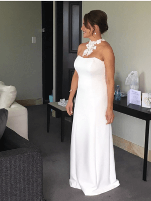Strictly Bridal – Size 10 Strapless dress | Second hand wedding dresses Coorparoo - 3