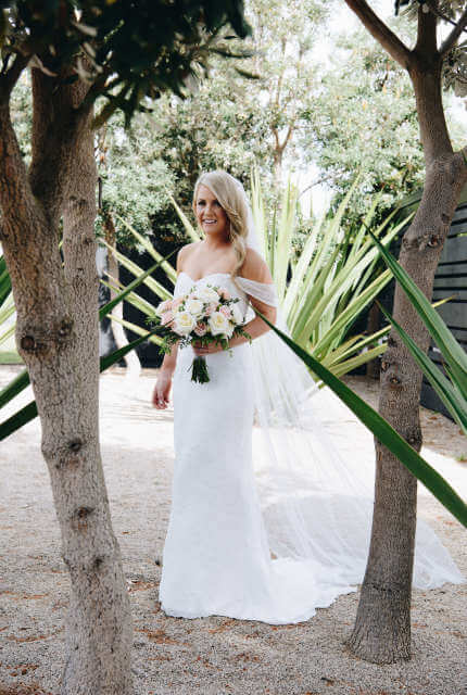 Wishbone And Ivy – Size 10 A-Line dress | Second hand wedding dresses boronia - 3