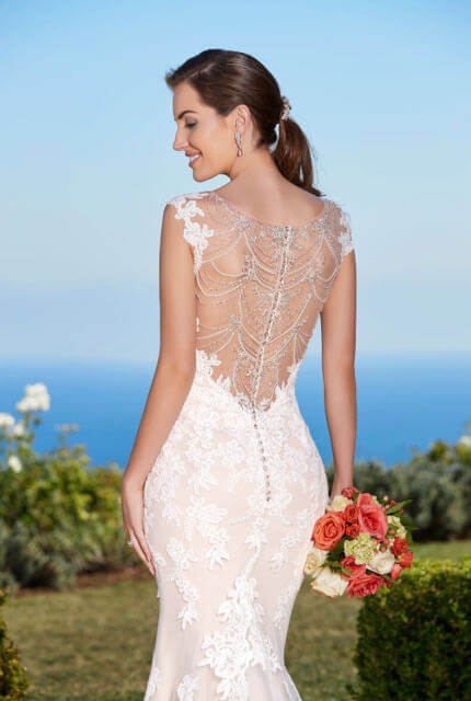 Kitty Chen – Size 8 Fishtail dress | Second hand wedding dresses CALAMVALE - Size 8