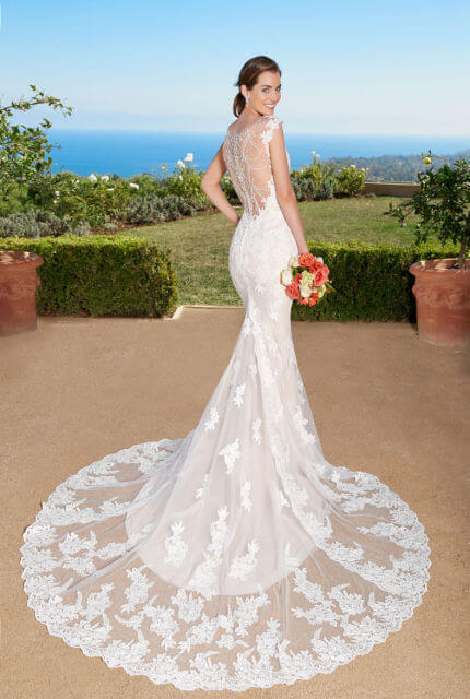 Kitty Chen – Size 8 Fishtail dress | Second hand wedding dresses CALAMVALE - 2