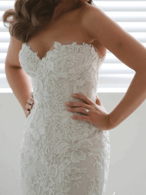 George Elsissa – Size 6 Fit and Flare dress | Second hand wedding dresses Sydney - 3