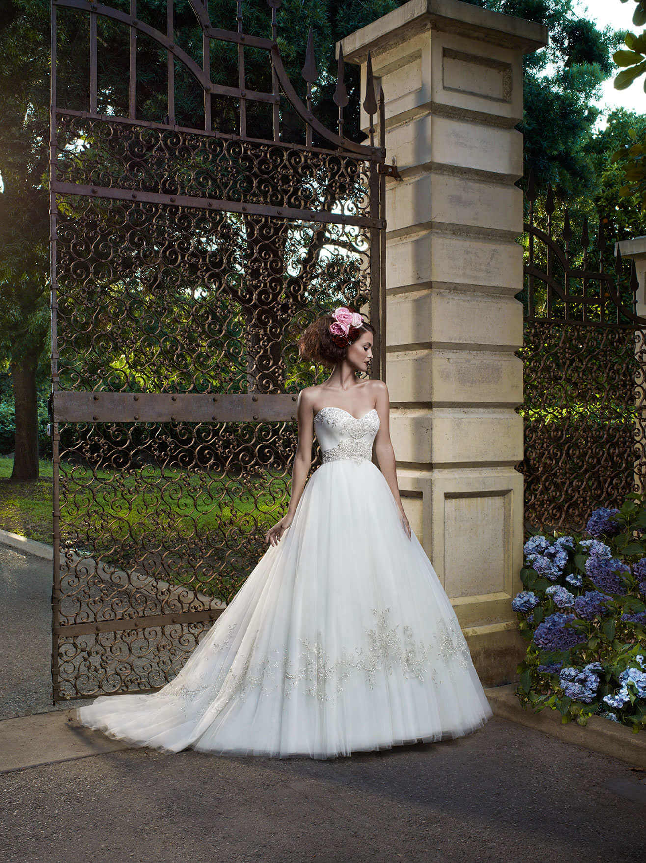 Casablanca – Size 6 A-Line dress | Second hand wedding dresses Doveton - Size 6