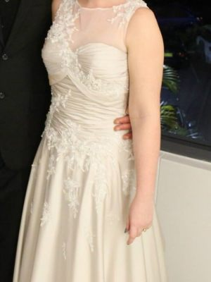 Jean Fox – Size 8 A-Line dress | Second hand wedding dresses Speers Point - 10