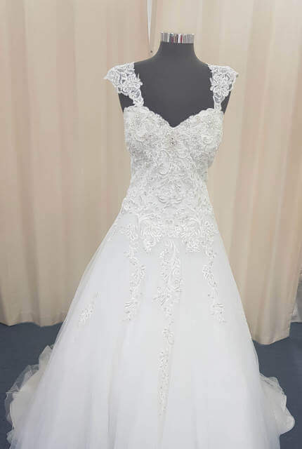 Christina Rossi – Size 22 A-Line dress | Second hand wedding dresses Cairns - 2