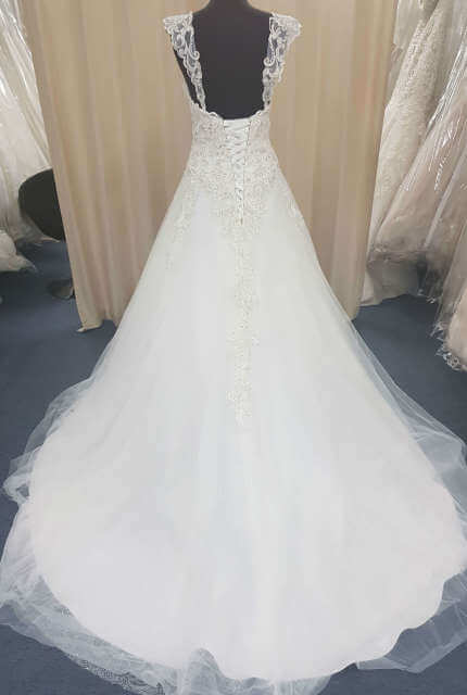 Christina Rossi – Size 22 A-Line dress | Second hand wedding dresses Cairns - 6