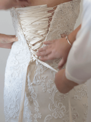 Christina Rossi – Size 12 Fit and Flare dress | Second hand wedding dresses Beaumaris - 2