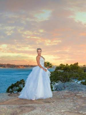 Allure Couture – Size 10 Ball Gown dress | Second hand wedding dresses Bankstown - 9