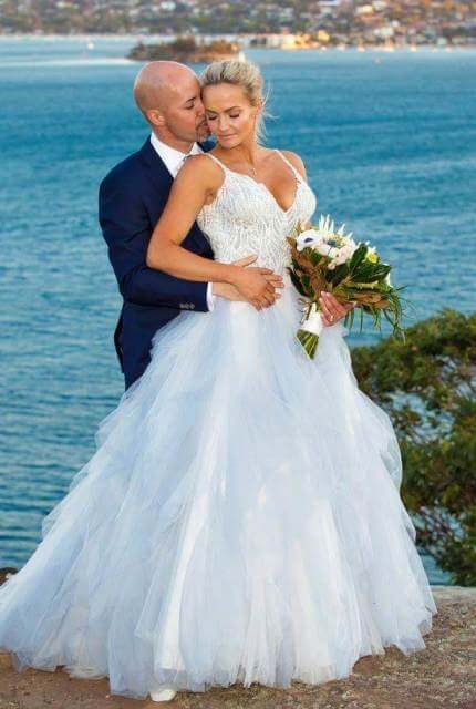 Allure Couture – Size 10 Ball Gown dress | Second hand wedding dresses Bankstown - 1