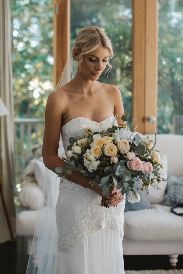 Karen Willis Holmes – Size 6 Fit and Flare dress | Second hand wedding dresses Tecoma - Size 6