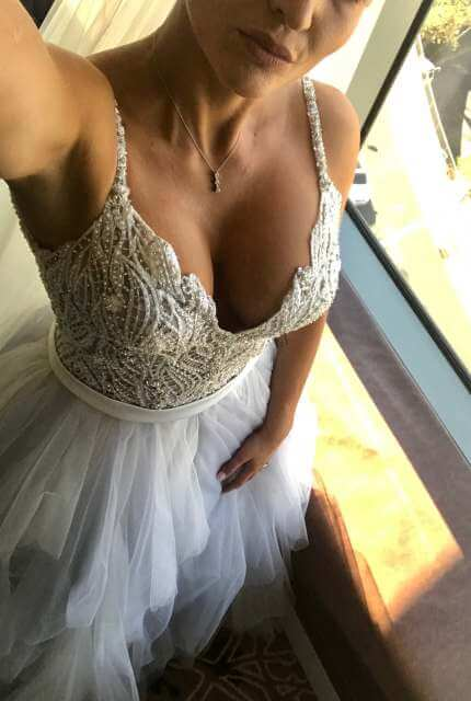 Allure Couture – Size 10 Ball Gown dress | Second hand wedding dresses Bankstown - 4