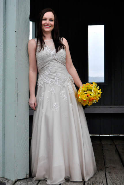 Jean Fox – Size 8 A-Line dress | Second hand wedding dresses Speers Point - 9